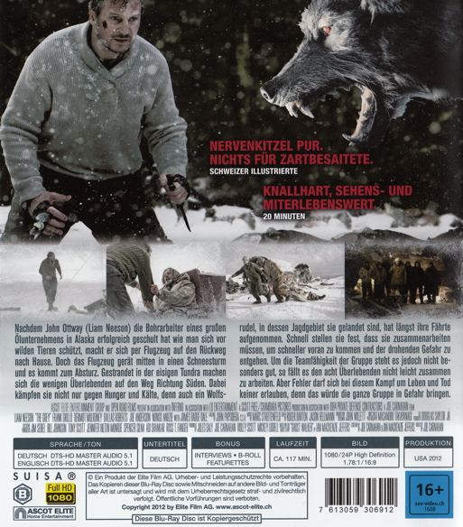 Film The Grey Unter Wolfen Auf Dvd Oder Blu Ray Kaufen Moviesale Die Online Videothek Der Schweiz
