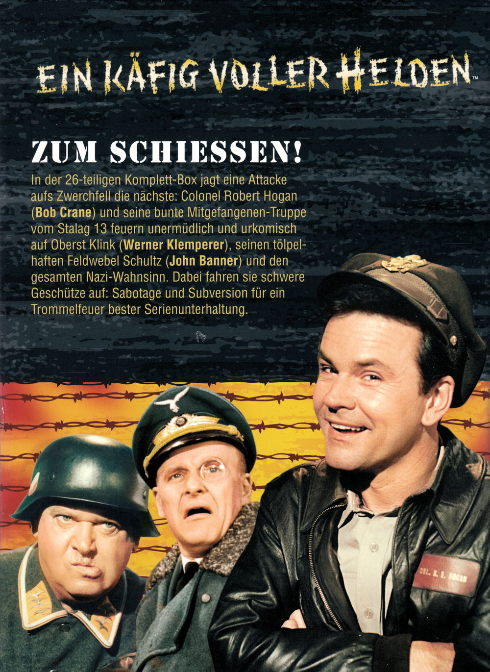 Film Ein Käfig Voller Helden Staffel 1 Auf Dvd Oder Blu Ray Kaufen