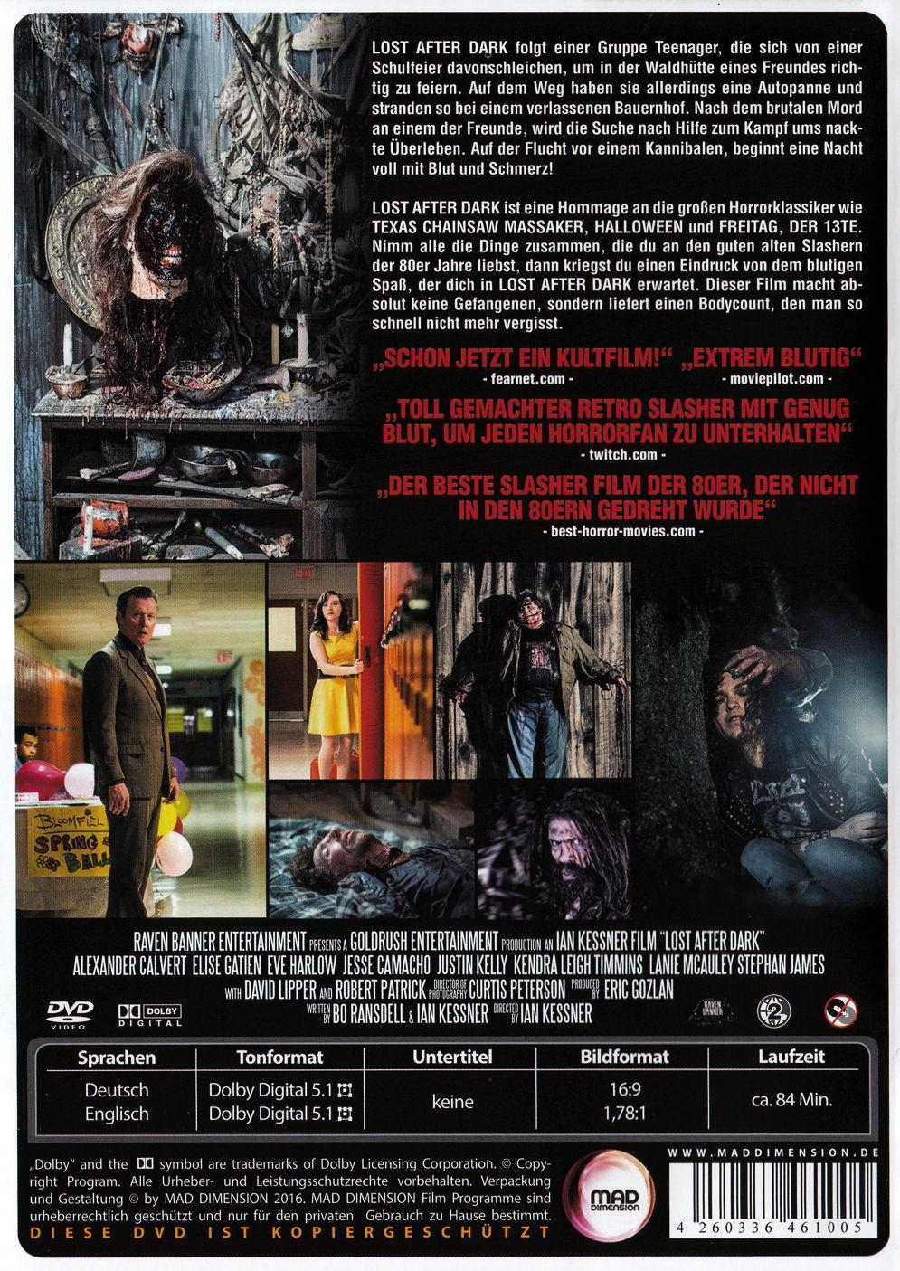 film lost after dark auf dvd oder blu ray kaufen horror moviesale die online videothek der. Black Bedroom Furniture Sets. Home Design Ideas