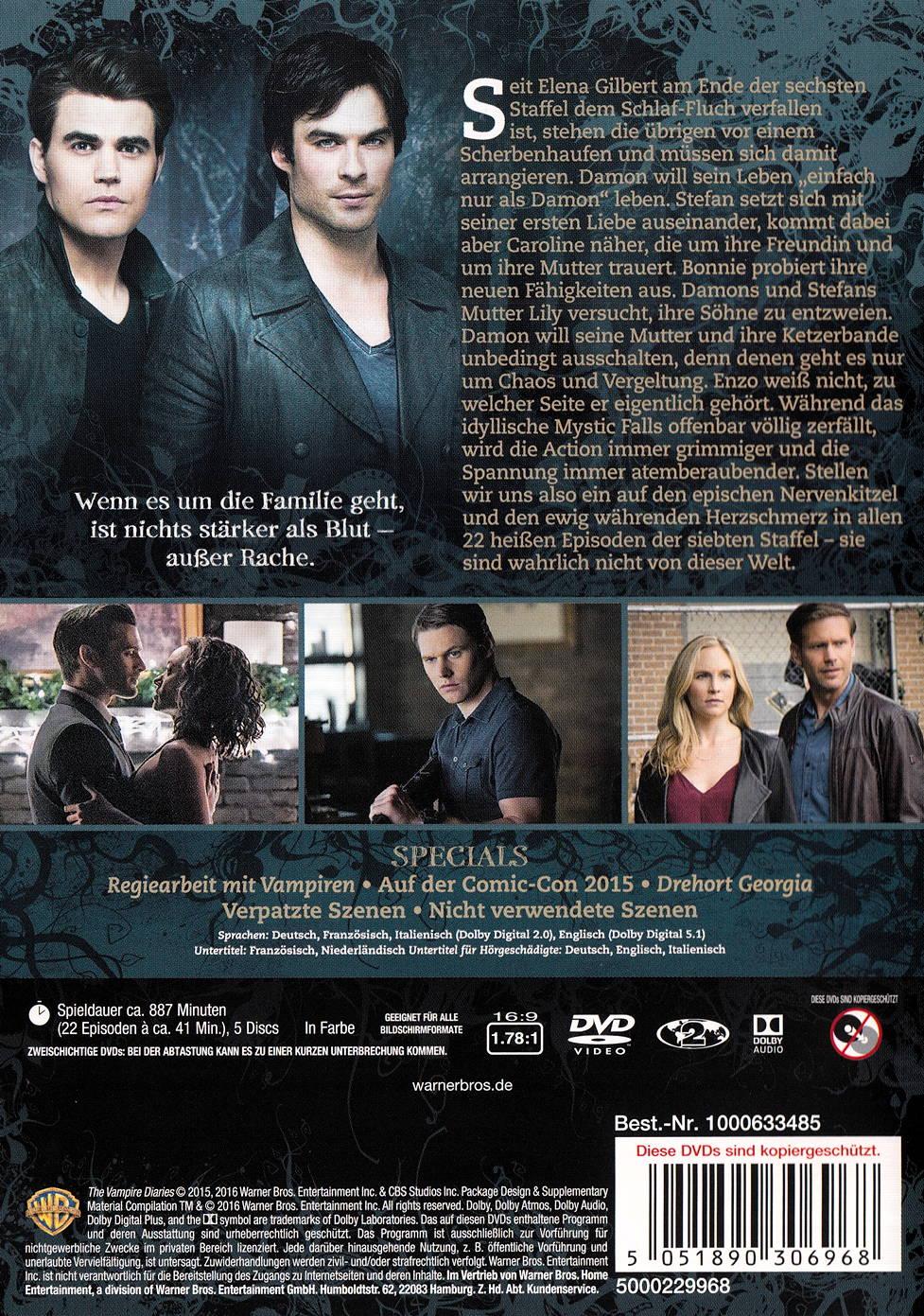 film the vampire diaries staffel 7 auf dvd oder blu ray kaufen moviesale die online. Black Bedroom Furniture Sets. Home Design Ideas
