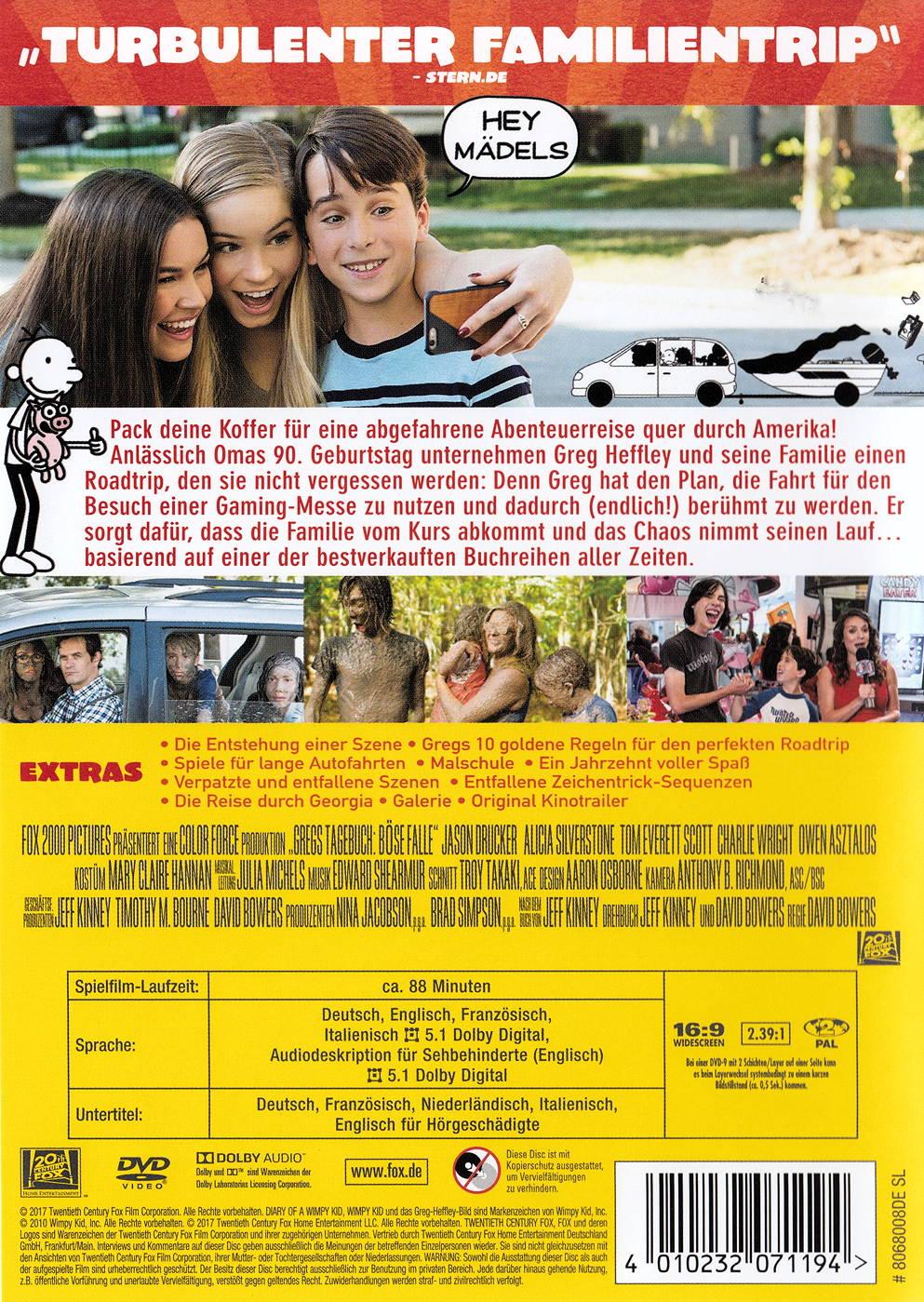 Film Gregs Tagebuch 4 - Böse Falle! auf DVD oder Blu-ray kaufen ...