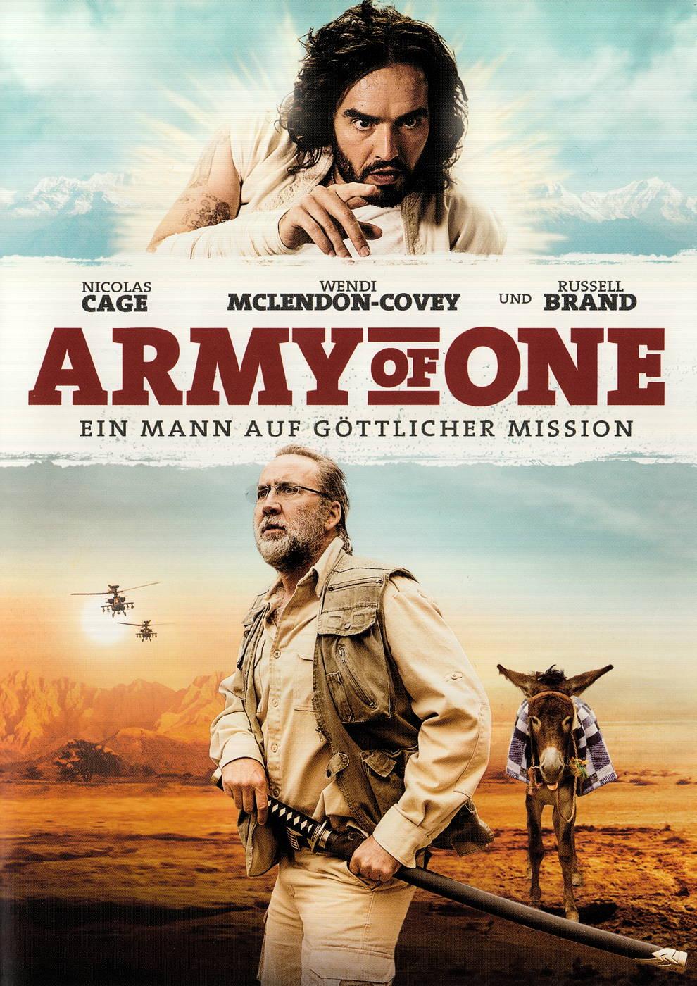 film army of one ein mann auf g ttlicher mission auf dvd oder blu ray kaufen moviesale die. Black Bedroom Furniture Sets. Home Design Ideas