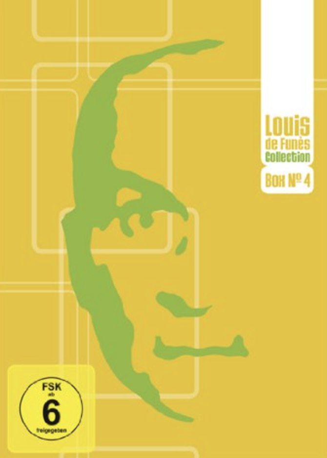 Louis de Funès Box 4