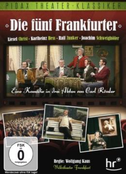 Die fünf Frankfurter (Originalverpackt)